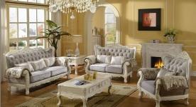 Phòng khách thu hút và sang trọng hơn với đèn trang trí