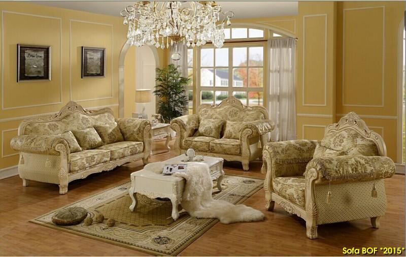 Cách chọn bộ ghế sofa cho phòng khách mang phong cách cổ điển