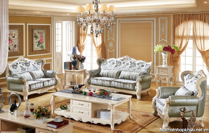 Sofa tân cổ điển 8803