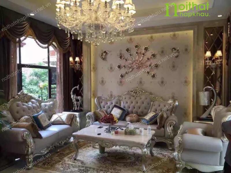 Cách lựa chọn sofa cổ điển đẹp phong cách Châu Âu