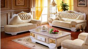 Sofa da cao cấp W303S