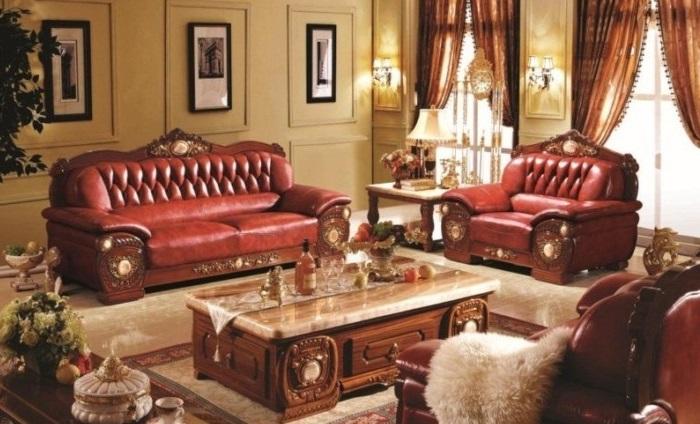 Sofa cổ điển W306C