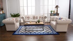 Sofa cổ điển châu âu 5015-trắng