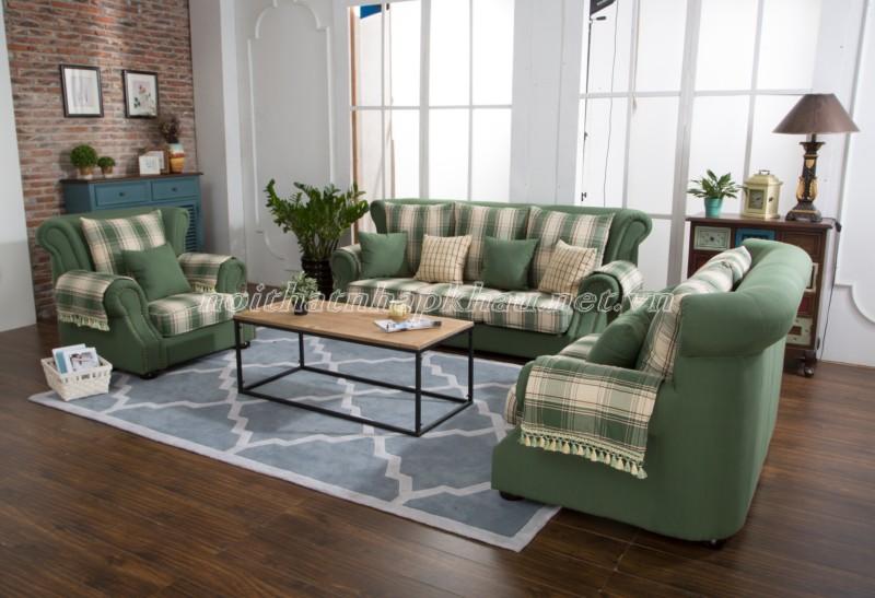 Sofa nhập khẩu chất liệu vải cao cấp