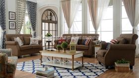 Sofa cổ điển châu âu 6006 nâu