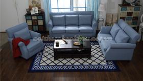 Sofa cổ điển châu âu 6006 xanh