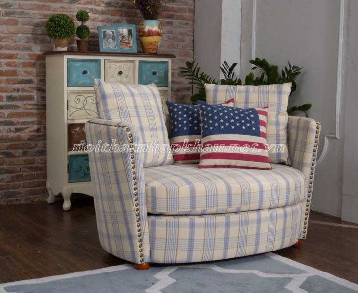 Ghế sofa phong cách mộc mạc giản dị