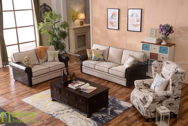 Sofa tân cổ điển Châu Âu 3065