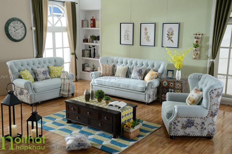 sofa tân cổ điển Châu Âu 3068
