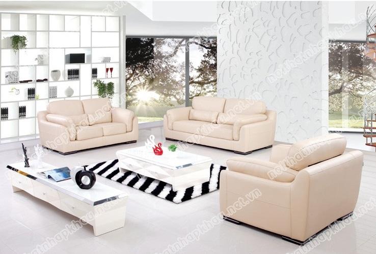Mang hơi thở mùa xuân cho phòng khách ngôi nhà