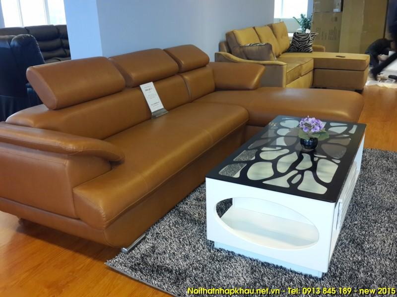 Sofa da 269 – màu da bò