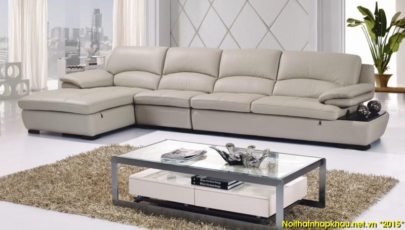 Tạo sự đẳng cấp và mới lạ với ghế sofa màu nude