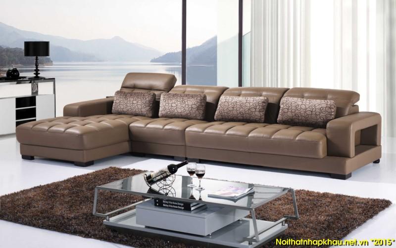 sử dụng sofa phòng khách tạo nên một không gian sang trọng và tiện nghi