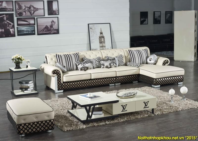 Nên đặt sofa da phòng khách ở nơi thoáng mát