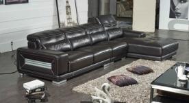 Bộ ghế sofa phòng khách màu đen cho không gian thêm cuốn hút