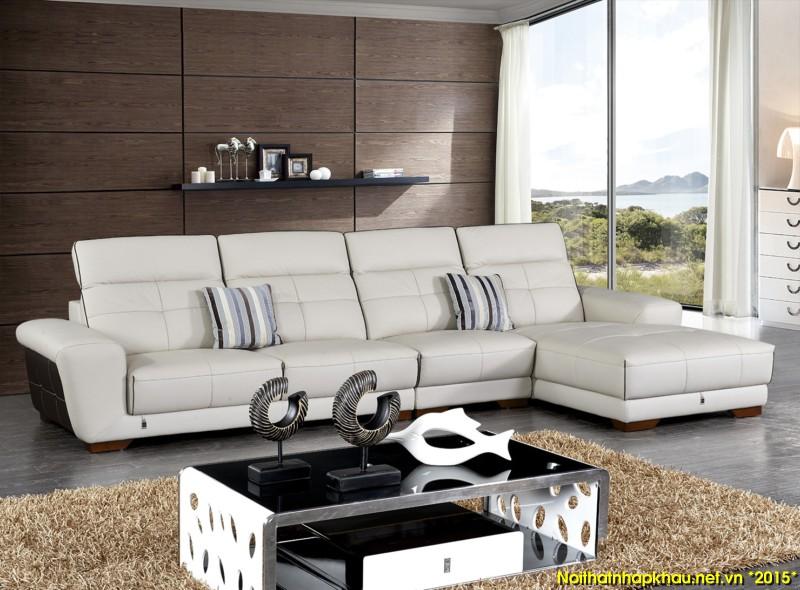 Ghế sofa da S521