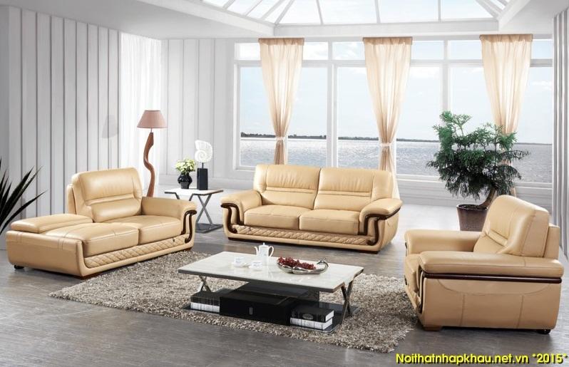 Sang trọng cùng ghế sofa da cho ngôi nhà hiện đại