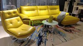 Sofa da K958 vàng