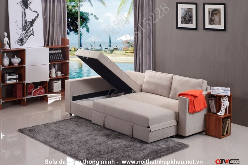 Sofa nỉ đẹp đa năng mang lại sự tiện nghi cao