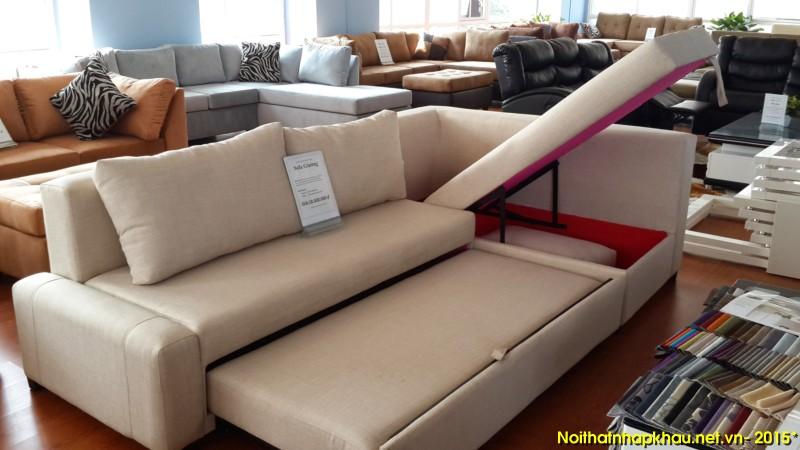 Sofa giường thông minh 6688 có thiết kế kiểu chữ L