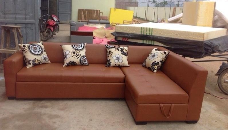 Ghế sofa góc thiết kế thông minh