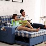 sofa giường nhập khẩu 942-1 -kẻ ô