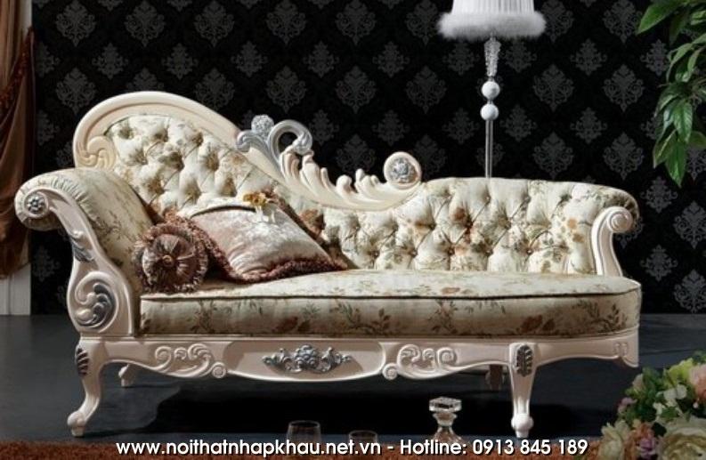 Mẫu sofa giường theo phong cách cổ điển