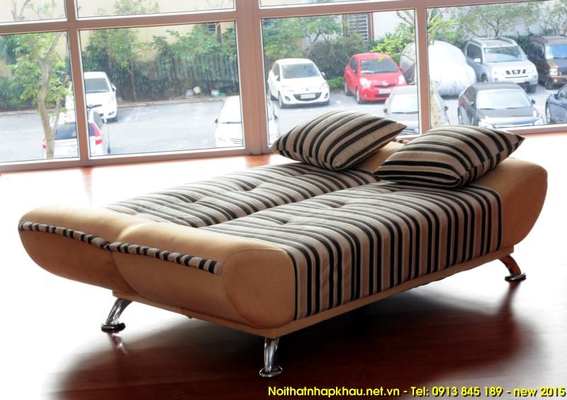 Trang trí nội thất phòng khách với ghế sofa giường thông minh