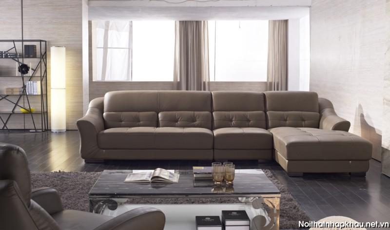 Ghế sofa góc chữ L cho phòng khách