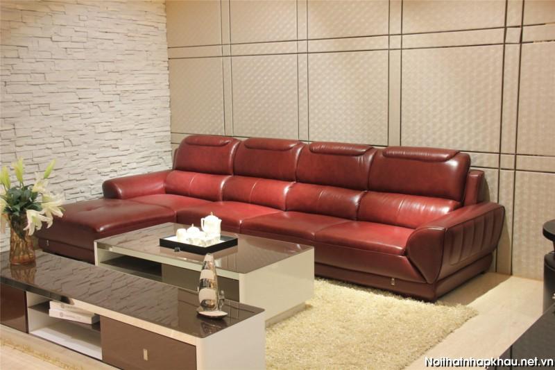 Căn phòng nhỏ nên chọn bộ ghế sofa góc mini
