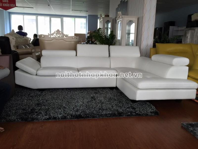 Bộ ghế sofa da phòng khách J3-155