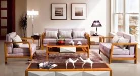 Ấn tượng với những mẫu thiết kế nội thất phòng khách bằng gỗ
