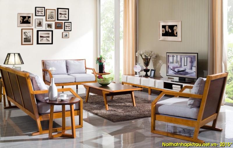 Sofa khung gỗ nhập khẩu AG031