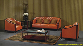Sofa khung gỗ nhập khẩu ZOE01B