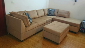 Sofa xuất khẩu 9909- da bò