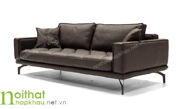 Bộ ghế sofa đẹp thiết kế dạng văng nhỏ gọn
