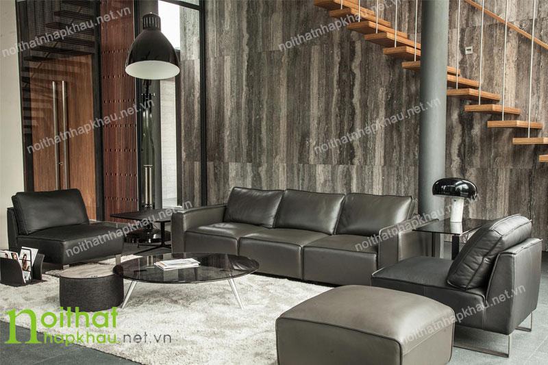 Sofa phòng khách nhập khẩu malaysia 7017