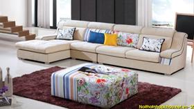 Sofa nỉ nhập khẩu 6101