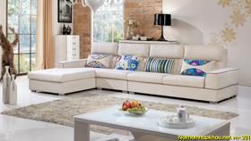 Sofa nỉ nhập khẩu 6109