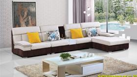 Sofa nỉ nhập khẩu 6110