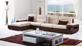 Sofa nỉ nhập khẩu 6111