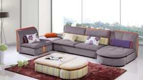 Sofa nỉ nhập khẩu 6112