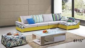 Sofa nỉ nhập khẩu 6115