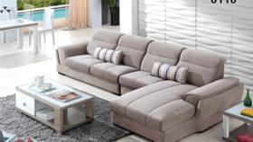 Sofa nỉ nhập khẩu 6118