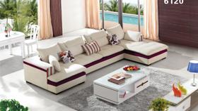 Sofa nỉ nhập khẩu 6120