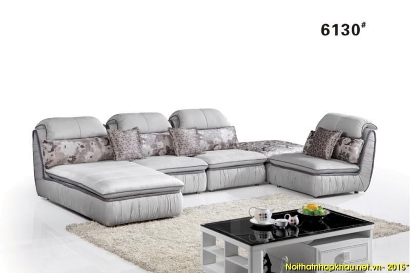 Sofa nỉ nhập khẩu 6130