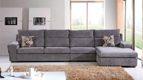 Sofa nỉ nhập khẩu 6138