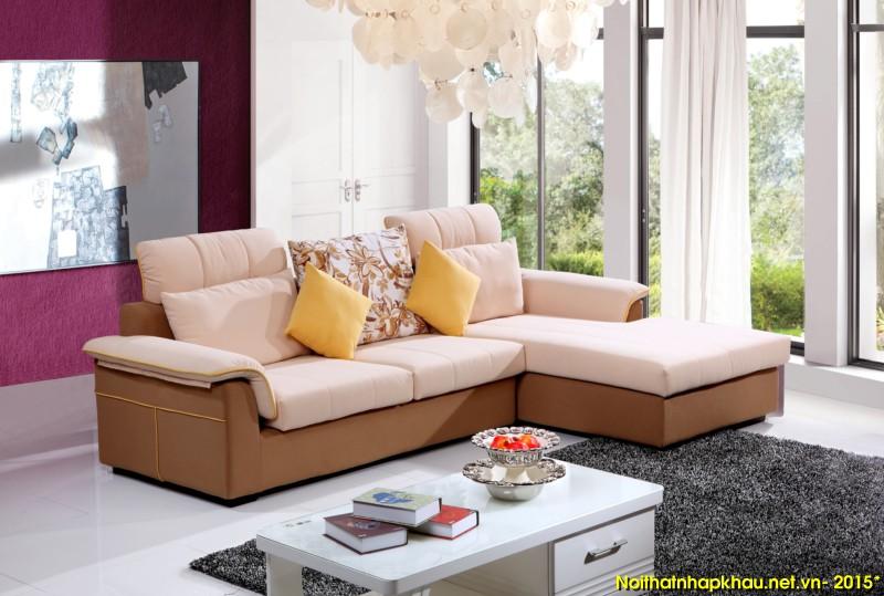 Sofa nỉ nhập khẩu 6139