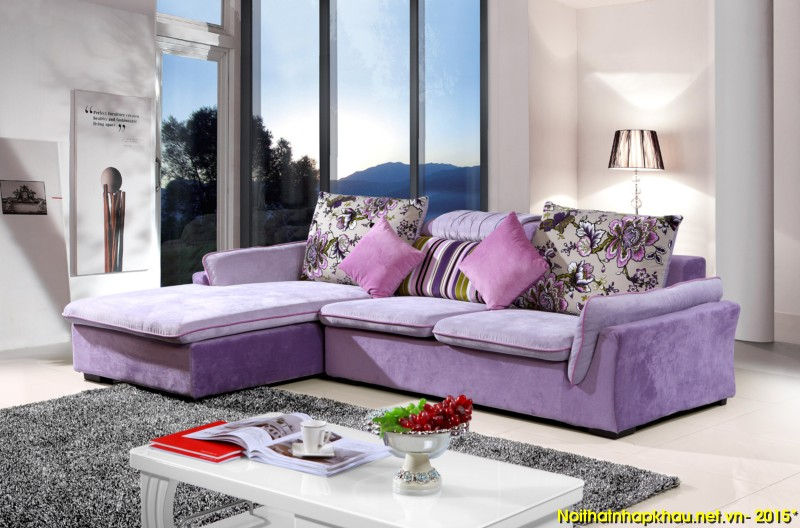 Chọn sofa da hay sofa nỉ