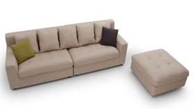 Sofa nỉ nhập khẩu 8016